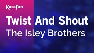 Karaoke Twist And Shout - The Isley Brothers *