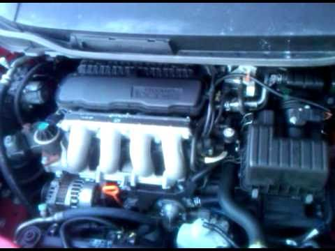 2009 Honda Fit Engine Sounds Prior to Motion Springs ...