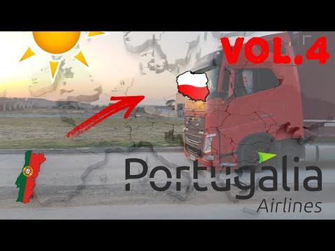 #truckerslifestyle s03 cz.12    #Artdrive (80) TRASA DO PORTUGALII VOL.4