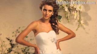Пышные свадебные платья  Невесты в пышных свадебных платьях
