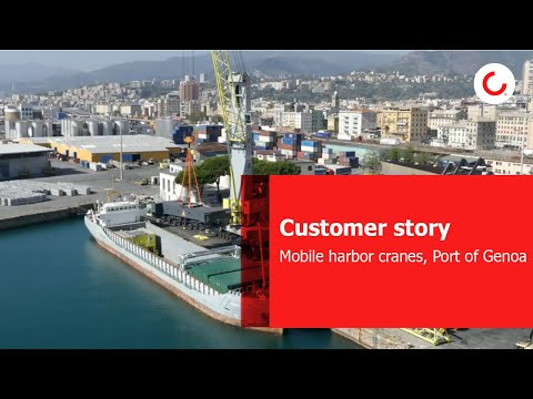 Customer sory: Mobile harbor cranes, Port of Genoa