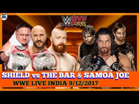 WWE Live India 9/12/2017 Highlights Result Predictions