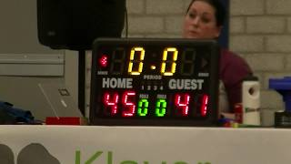 7 december 2019 Jump MSE1 vs Rivertrotters MSE2 72-79 2nd period