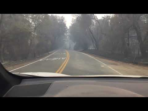 Northern California Fire 10/9/17 Mendocino County/Redwood Valley /Tomki and West Roads