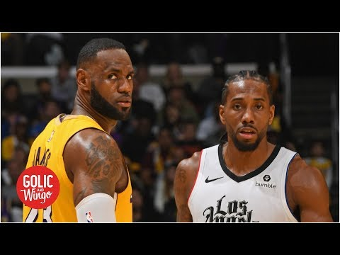 Where the Lakers vs. Clippers battle stands at the 2020 NBA All-Star Break | Golic & Wingo
