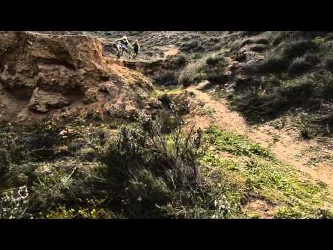 chris akrigg a hill in spain mtb downhill 720p vs 1080p