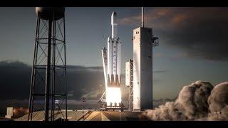 Запуск Falcon Heavy - «промоакция» и «трюк»| Новости 7:40, 08.02.2018