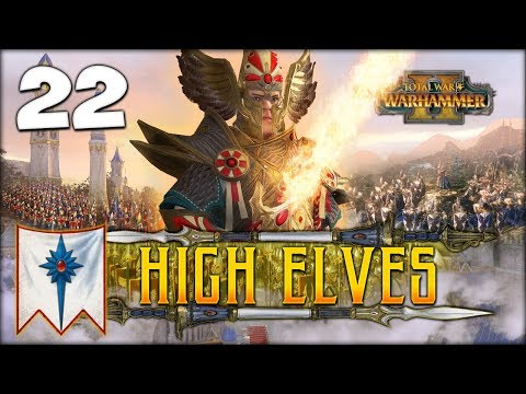 STAR DRAGON RISING! Total War: Warhammer 2 - High Elves Campaign - Tyrion #22