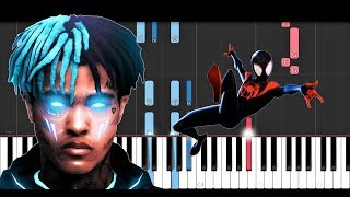 XXXTENTACION, Lil Wayne, Ty Dolla Sign - Scared of the Dark (Piano Tutorial)