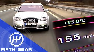 Fifth Gear: Reaching 155mph On The Autobahn