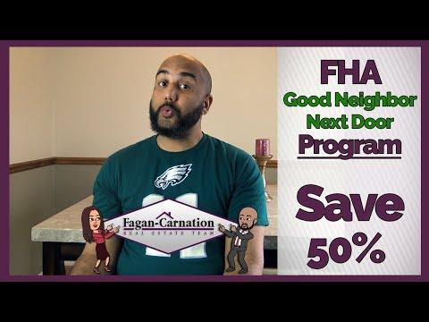 Good Neighbor Next Door Home Buyer Program 50% Discount For LEO, Teachers, EMT's & Firefighters