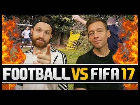 FOOTBALL VS FIFA WITH JIMMY CONRAD!