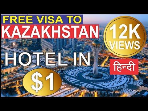 India To Astana | 5 * Hotel In 1$ US Dollar | Kazakhstan Free Transit Visa  | Indian Vlogger