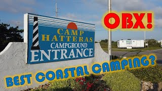 Camp Hatteras Campground Review, Ouтer Banks Camping (OBX) Nags Head, Kitty Hawk, Coastal NC