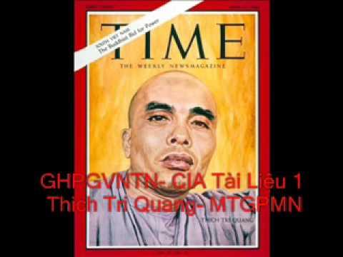 GHPGVNTN CIA 1 Thich Tri Quang Thich Don Hau Thich Quang Do Thich Huyen Quang