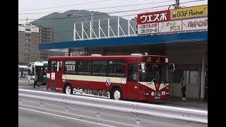 西鉄バス 路面電車ラッピングバス 110周年記念ラッピングバス