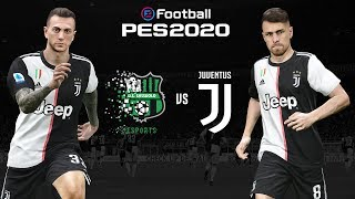 Sassuolo V Juventus 🎮 | Pes 2020 Friendly ⚽| Esports