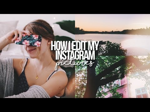 HOW I EDIT MY INSTAGRAM PICTURES 2017! // Thank you for 10K followers!!
