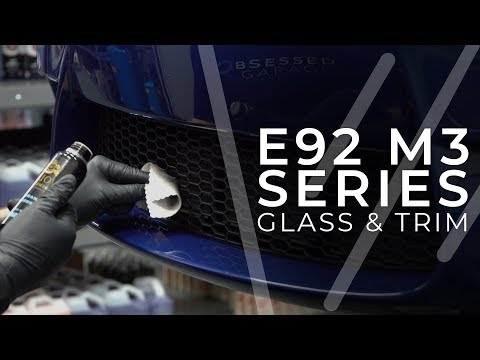 dialing-in-my-e92-m3-:-e9---trim-and-glass