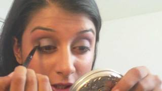 PLUM & GRAY, SMOKEY EYESHADOW TUTORIAL- BAZOOMBAZ11SARAH MAHMUD (HD) Thumbnail