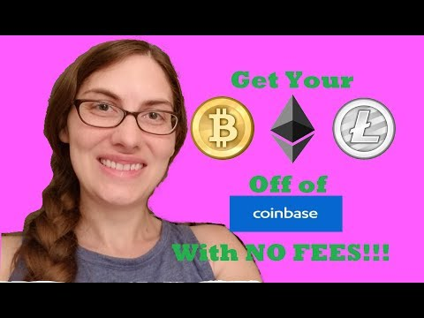 How to Get Your Crypto off of Coinbase With NO FEES!!!