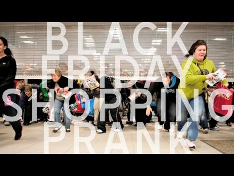 BLACK FRIDAY SHOPPING PRANK 2012