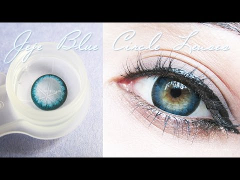 "Circle Lens Jeje Blue ""Klenspop"""