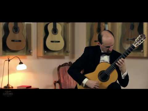 Jan Depreter plays Canción Triste by Francisco Calleja on a 2015 Karel Dedain