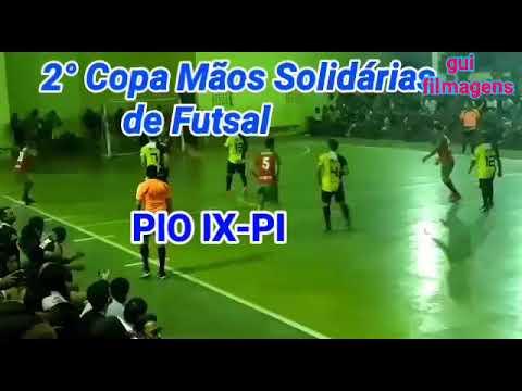 2° Copa Mãos Solidárias de Futsal. PIO IX-PI  06/12/2019   (gui_filmagens)