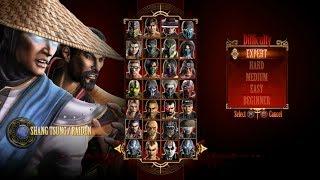 Mortal Kombat 9 - Expert Tag Ladder (Shang Tsung & Raiden/3 Rounds/No Losses) thumbnail