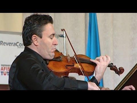 Всемирно известный скрипач дал концерт ради спасения украинской девочки