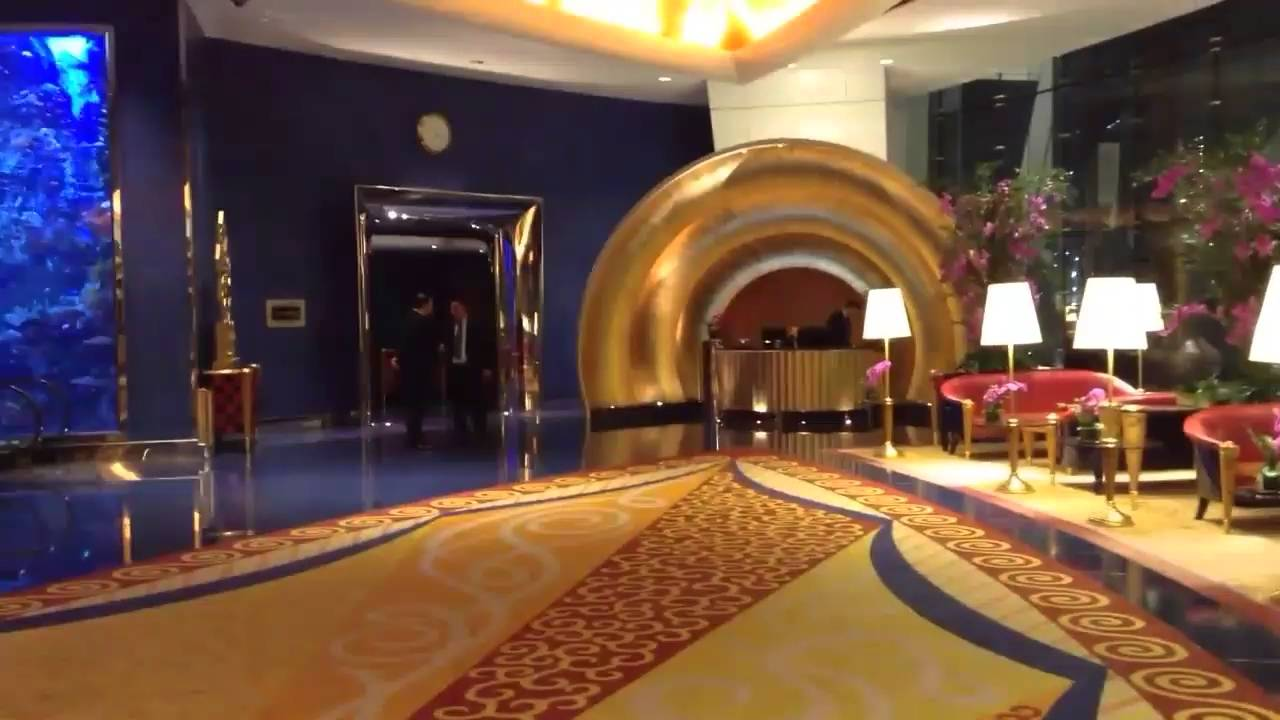 inside burj al arab hotel youtube