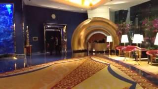 INSIDE BURJ AL ARAB  HOTEL .