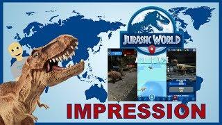 Jurassic World Alive Android Gameplay Impression (Simulation)