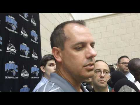 Frank Vogel Orlando Magic 2016 Media Day Interview