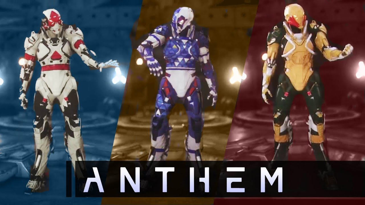 Anthem Javelin Customization In-Depth! EVERY NEW DETAIL! Rare Loot! New Gameplay Info!