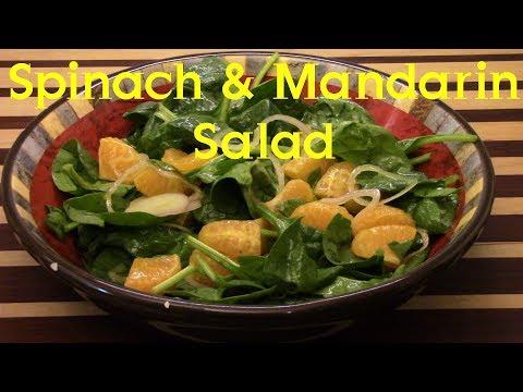 Spinach And Mandarin Salad Recipe S2 Ep261