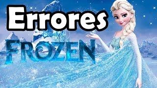 Errores de Frozen Una Aventura Congelada