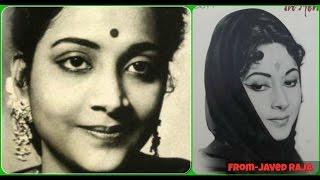 GEETA DUTT-Film-TOOTE KHILONE-1954-Kise Maloom Tha,Ae Roothi Hui Taqdeer Bata-[ Great Melody ]
