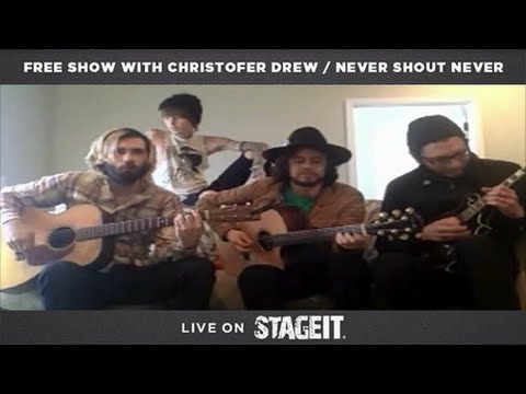 Never Shout Never Stageit Concert Stream Full Show