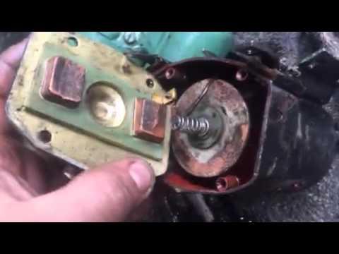 Fixing Detroit diesel 71 series starter