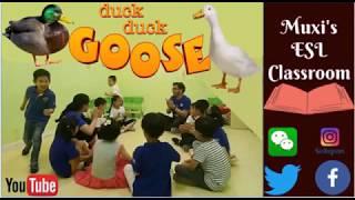 202 - Duck Duck Goose| ESL Game for Sentences|Childhood Game |Mux's ESL games|