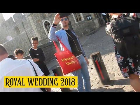 Non saciou o menú da voda real aos invitados? A pizza coouse en Windsor