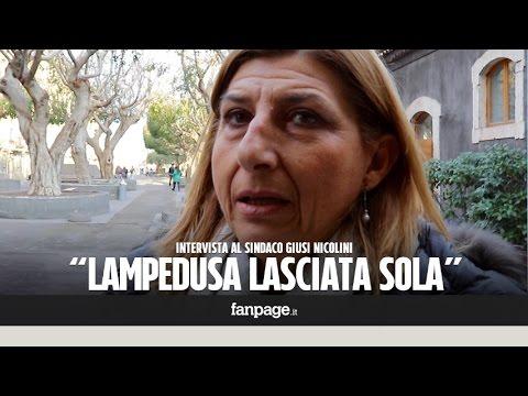 """Giusi Nicolini: """"Lampedusa scomoda per Bruxelles. Di accoglienza non si muore"""""""