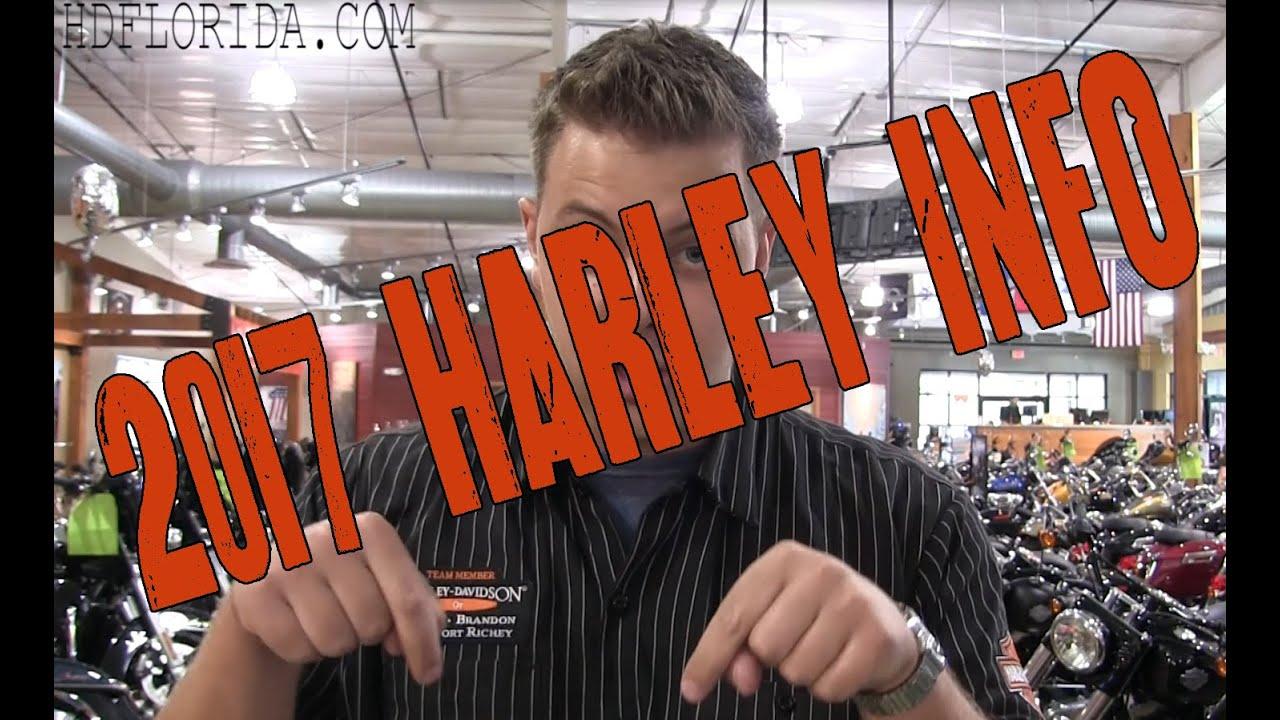 harley davidson dealer show - 2017 harley davidson new models