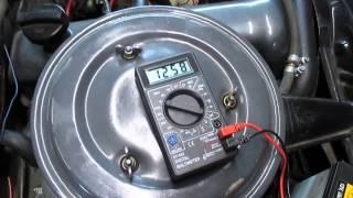 Как измерить зарядку аккумулятора.(напряжение бортовой сети автомобиля.).(как замерить зарядку акумулятора на автомобиле. группы ВКонтакте: https://vk.com/roman_romanov_pro_vaz_2101_2107 https://vk.com/roman_romano..., 2015-01-08T16:19:17.000Z)