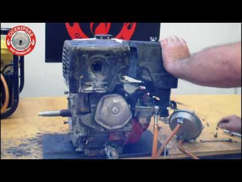 ¡ Alucinante !  Kit Gas – Generador Honda Butano Propano