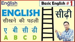 Basic English Speaking and Grammar for Beginners in Hindi