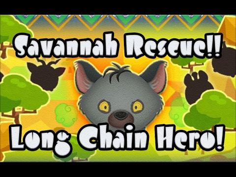 Line Disney Tsum Tsum - Savannah Rescue Long Chain Specialist!!
