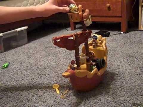 Vegitales Spoof Pirate Ship Youtube